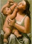 Живопись | Пабло Пикассо | Mere et enfant, 1921
