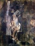 Живопись | Пабло Пикассо | Nude figure, 1910