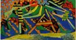 Живопись | Пабло Пикассо | On the beach, Dinard, 1928