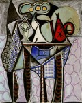 Живопись | Пабло Пикассо | Still life on a table, 1947