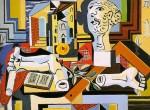 Живопись | Пабло Пикассо | Tete et bras de platre, 1925