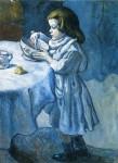 Живопись | Пабло Пикассо | The Greedy, 1901