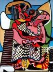 Живопись | Пабло Пикассо | The Kiss, 1925