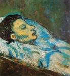 Живопись | Пабло Пикассо | The death of Casagemas, 1901