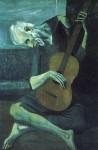Живопись | Пабло Пикассо | The old blind guitarist, 1903