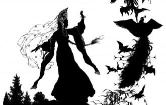 Черно-Белые Иллюстрации К Сказкам От Нирута Путтапипата