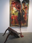Инсталляция | Valerie Hegarty | Headless George Washington with Table