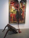 Инсталляция | Valerie Hegarty | Headless George Washington with Table