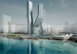 Архитектура | Zaha Hadid | Небоскребы Signature Towers. Проект. Дубаи, ОАЭ