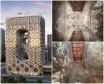 Архитектура | Zaha Hadid | 40-этажный отель. Макао, Китай. 2013-2017