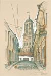 Живопись | Владимир Колбасов | Выборгские Зарисовки | Часовая башня