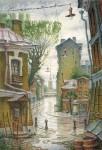 Живопись | Владимир Колбасов | Город | Дождь