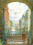 Живопись | Владимир Колбасов | Город | Итальянская улица
