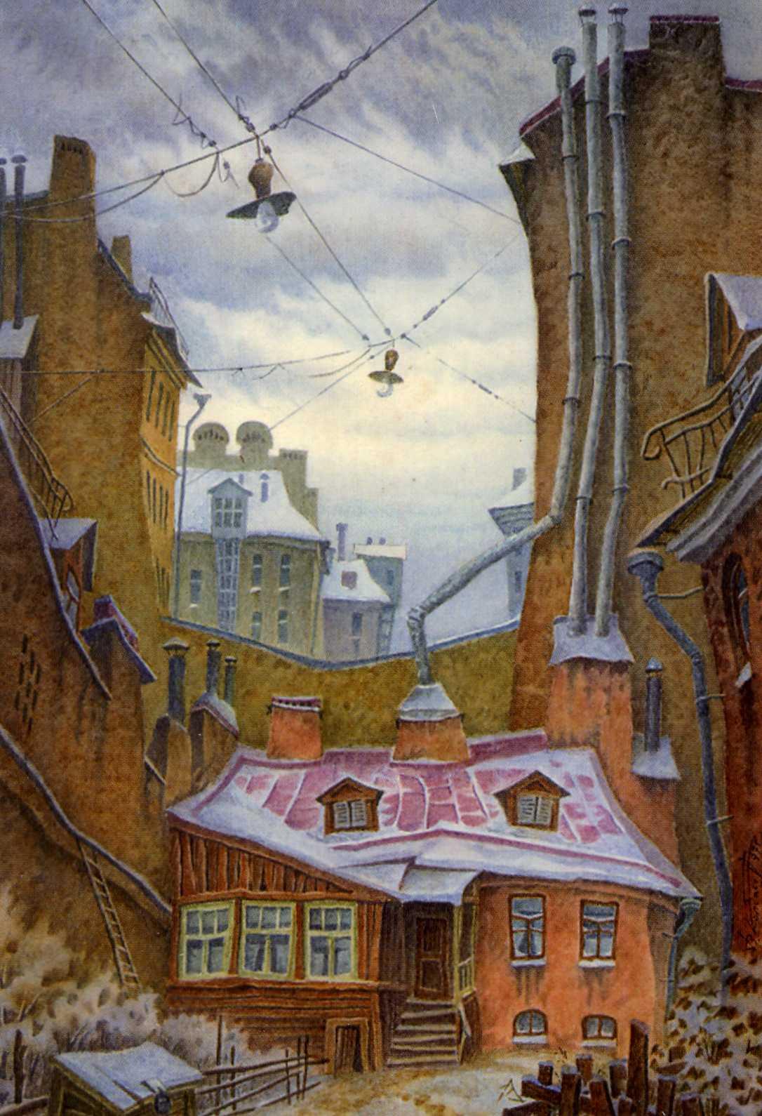 Картины дмитрия спироса дмитрий спирос рисует красивые картины города