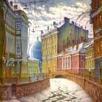 Живопись | Владимир Колбасов | Город | Мойка