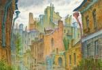 Живопись | Владимир Колбасов | Город | После дождя