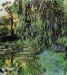 Живопись | Клод Моне | Плакучая ива и пруд с водяными лилиями, 1916-1919