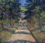 Живопись | Клод Моне | Тропинка в саду Моне, Живерни, 1900