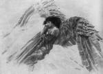 Живопись | Михаил Врубель | Демон летящий, 1890