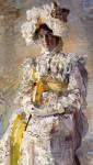 Живопись | Михаил Врубель | Портрет Н. И. Забелы-Врубель, 1898