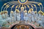 Живопись | Михаил Врубель | Сошествие Святого Духа на апостолов, 1885