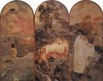 Живопись | Михаил Врубель | Суд Париса, 1893