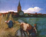 Живопись | Пит Мондриан | Вид на Винтерсвик, 1898