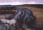 Живопись | Пит Мондриан | За работой (На земле), 1898