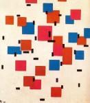 Живопись | Пит Мондриан | Композиция в цвете А, 1917