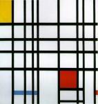 Живопись | Пит Мондриан | Композиция с красным, желтым и синим, 1937