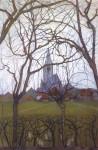 Живопись | Пит Мондриан | Сельская церковь, 1898