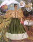Живопись| Фрида Кало | Марксизм подарит больным здоровье, 1954