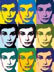 Живопись | Энди Уорхол | Audrey Hepburn | 01