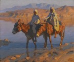Живопись | Adam Styka | Crossing the Wadi