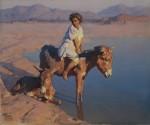 Живопись | Adam Styka | The Donkey Ride
