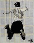 Живопись | Loui Jover | Free Falling