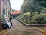Живопись | Макс Либерман | Дом Стефана в Лейдене, 1889