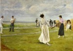 Живопись | Макс Либерман | Игра в теннис у моря, 1901