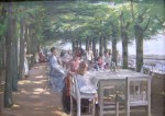 Живопись | Max Liebermann | The Terrace at the Restaurant Jacob in Nienstedten on the Elbe, 1902