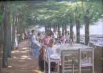 Живопись | Макс Либерман | Терраса ресторана Якоба. Нинштедтен, Гамбург, 1902
