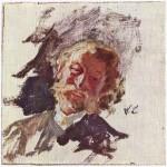 Живопись | Вильгельм Лейбль | Портрет мужчины, 1890