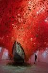 Инсталляция | Chiharu Shiota | The Key of the Hand