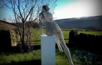 Ажурные Скульптуры Из Металлической Проволоки Дерека Кинзетта