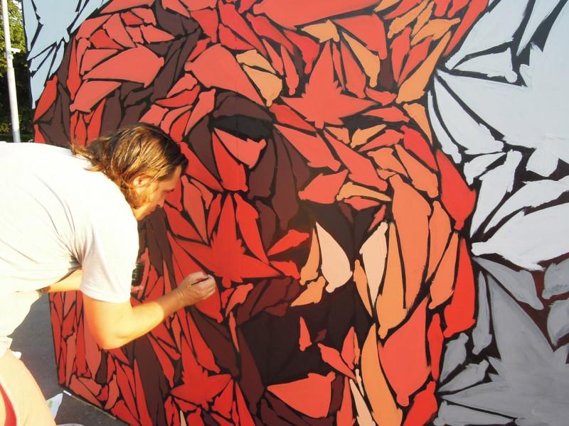 Граффити как стиль жизни. Костя Август