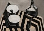 Живопись   William Klein   Still life painting, 1951-54
