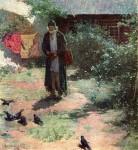 Живопись | Абрам Архипов | Келейник, 1891