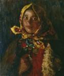 Живопись | Абрам Архипов | Крестьянская девушка