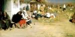 Живопись | Абрам Архипов | Радоница (Перед обедней)