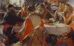 Живопись | Абрам Архипов | Чаепитие, 1919