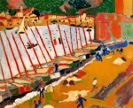 Живопись | Андре Дерен | Порт в Коллиуре, 1905